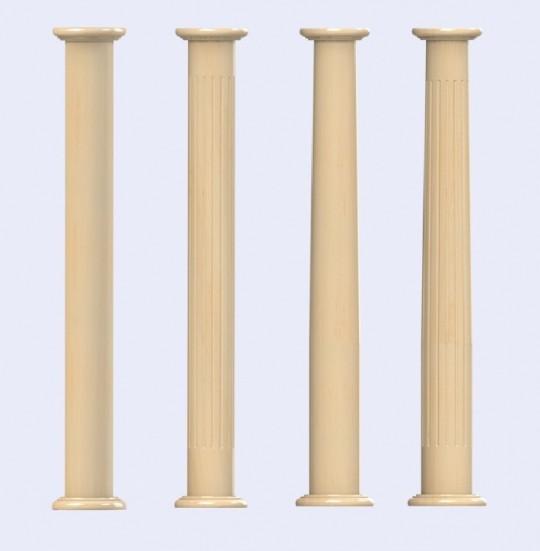 timber columns, structural columns, decorative columns, architectural columns, load bearing columns, painted columns, hardwood columns