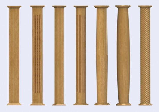 The Contemporary Range Of Timber Columns