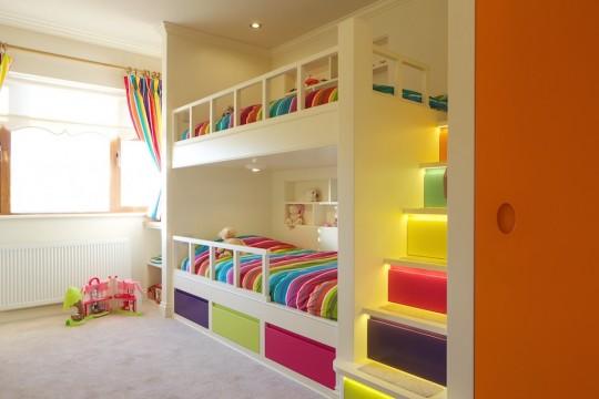 Children's fitted bedroom furniture-bavari.ie