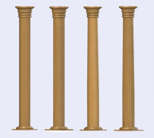 The Prestige Range Of Architectural Designer Timber Columns
